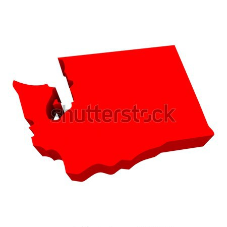 Grúzia piros USA térkép terv háttér Stock fotó © iqoncept