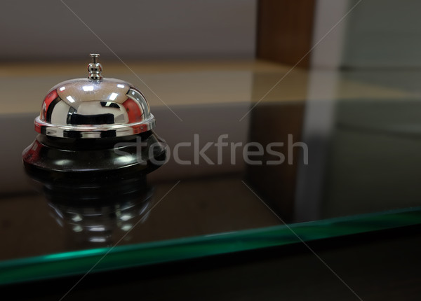 Service Bell Courtesy Assistance Customer Front Desk Stock photo © iqoncept