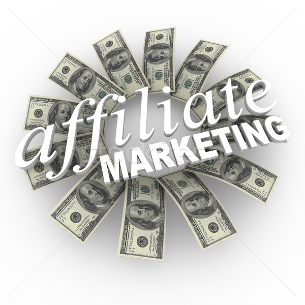 Affiliate Marketing Referral Network Money Generating Plan Stock photo © iqoncept
