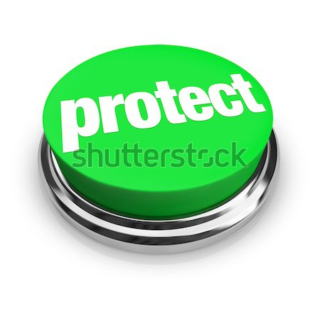 Loyalty Word Green Button Relationship Fidelity Stock photo © iqoncept