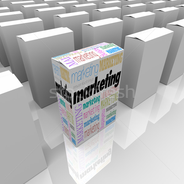 Marketing - Many Products One Different Stock photo © iqoncept