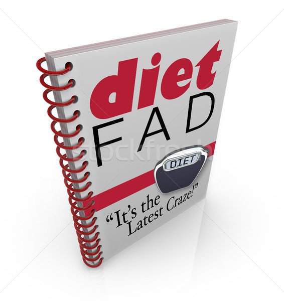 Diet Fad Book Dieting Craze Best-Seller Stock photo © iqoncept