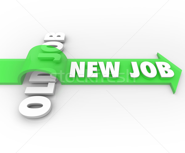 New Job Vs Old Job Career Change Promotion Better Work Stock photo © iqoncept
