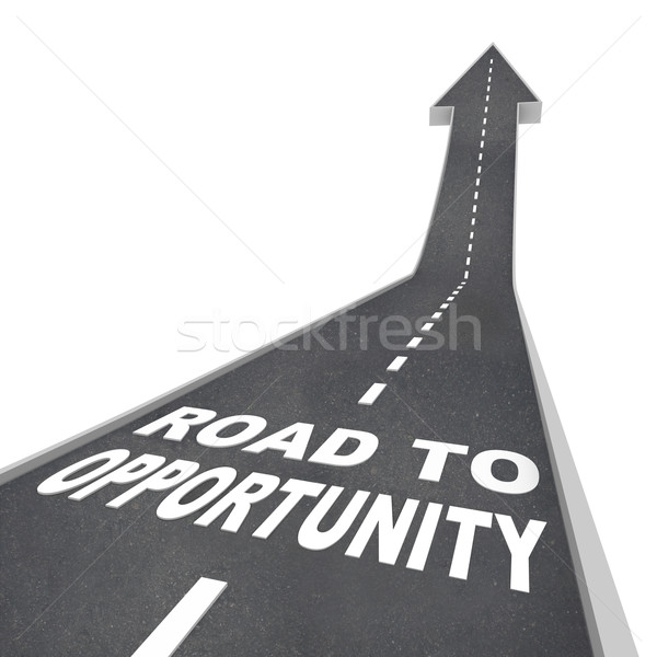 Road to Opportunity - Travel to Success and Growth Stock photo © iqoncept