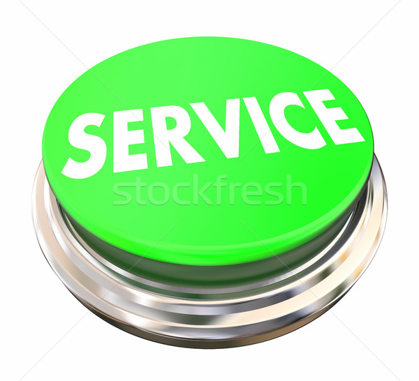 Service Good Preferred Best Company Business Green Button 3d Ill Stock photo © iqoncept