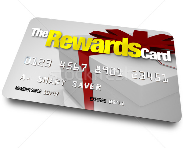 The Rewards Credit Card Earn Refunds and Rebates Stock photo © iqoncept