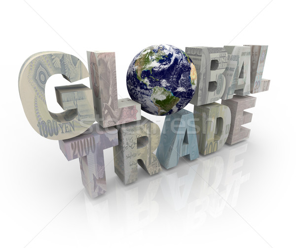 Global Trade - World Currencies Stock photo © iqoncept