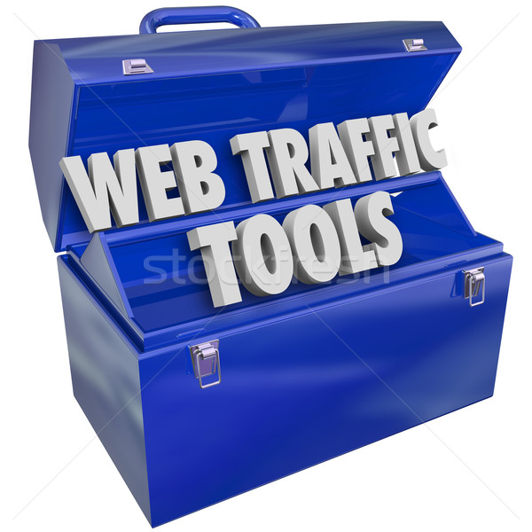 Web Traffic Tools Toolbox Increase Website Search Frequency Repu Stock photo © iqoncept