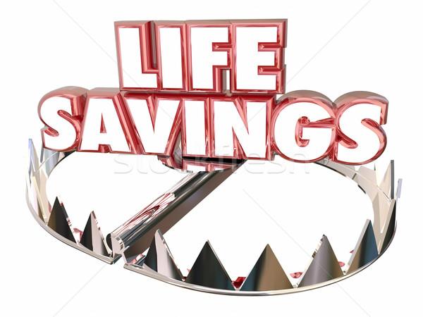 Vita risparmio soldi abbondanza risorse Foto d'archivio © iqoncept