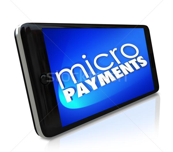 Ceny smart komórka komórkowych Zdjęcia stock © iqoncept