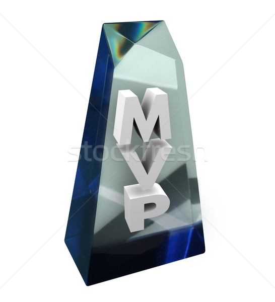 MVP Most Valuable Player Award Prize Honor Best Team Member Stock photo © iqoncept