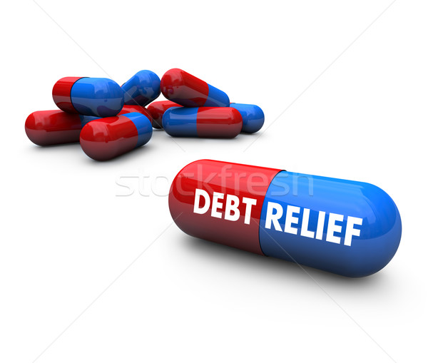 Pills - Debt Relief Stock photo © iqoncept