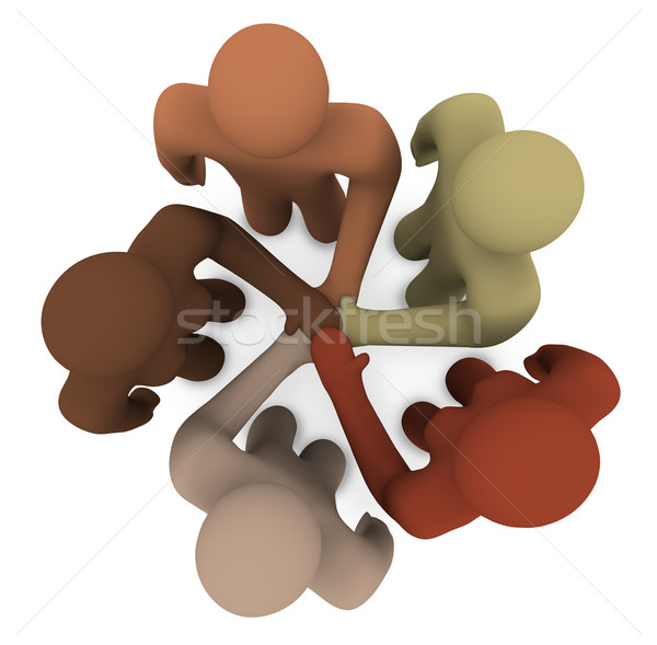 Diverse People Joining Hands Stock photo © iqoncept
