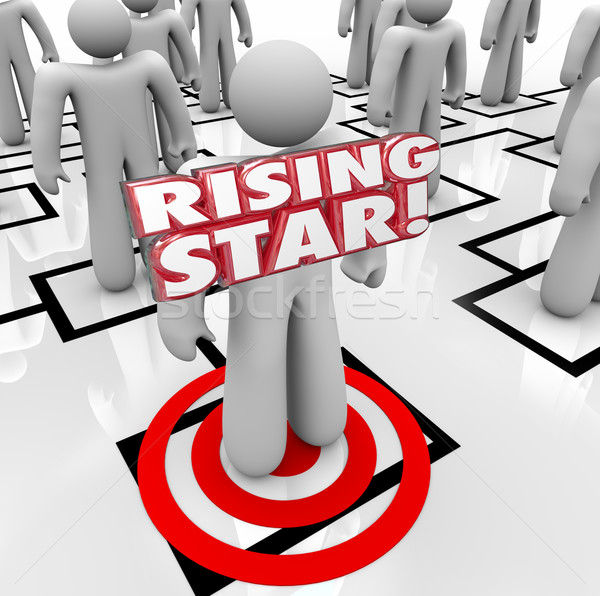 Rising Star Worker Employee Organization Chart Special Best Top  Stock photo © iqoncept