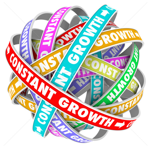 Constant Growth Learning Improvement Always Getting Better Stock photo © iqoncept