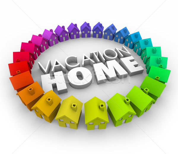 Vacation Home Travel Booking Reservation House Real Estate Stock photo © iqoncept
