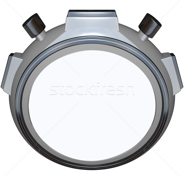 Stopwatch Timer Blank Copy Space Speed Race Stock photo © iqoncept