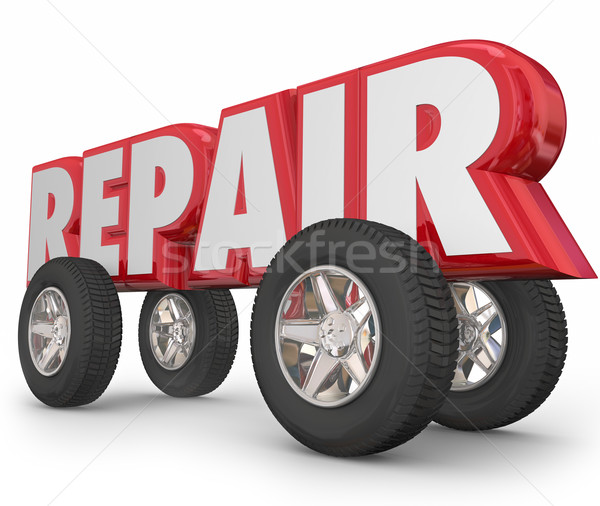 r paration mot 3d lettres roues voiture photo stock iqoncept 6418353 stockfresh. Black Bedroom Furniture Sets. Home Design Ideas