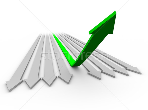 Arrow Up to Success 1 Stock photo © iqoncept