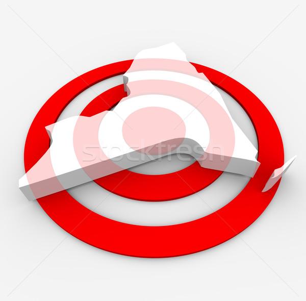 Target New York - Marketing Concept Stock photo © iqoncept