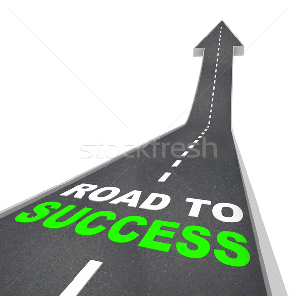 Road to Success - Up Arrow Stock photo © iqoncept