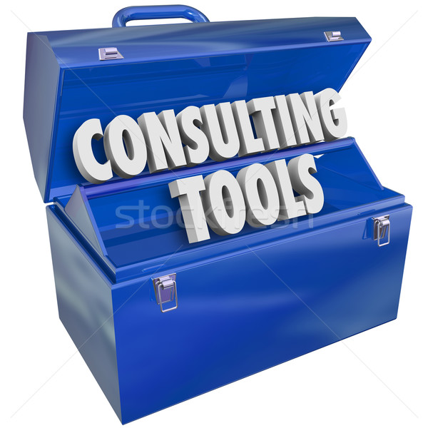 Consulting Tools Toolbox Skills Experience Professional Support  Stock photo © iqoncept