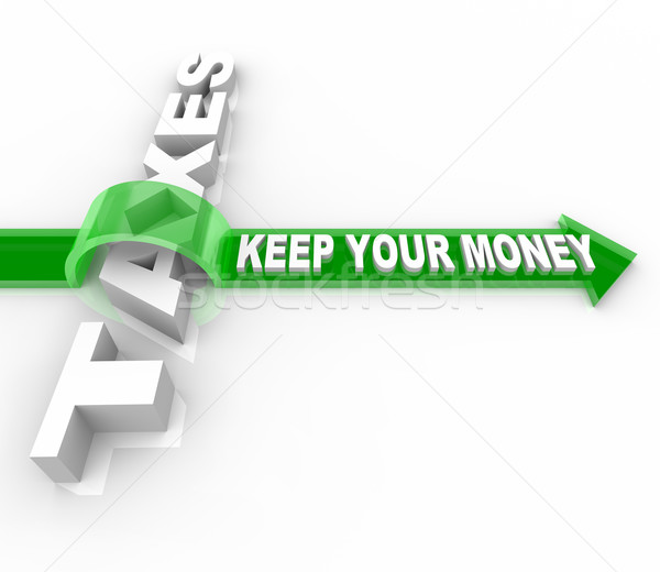 Taxes - Keep Your Money Stock photo © iqoncept
