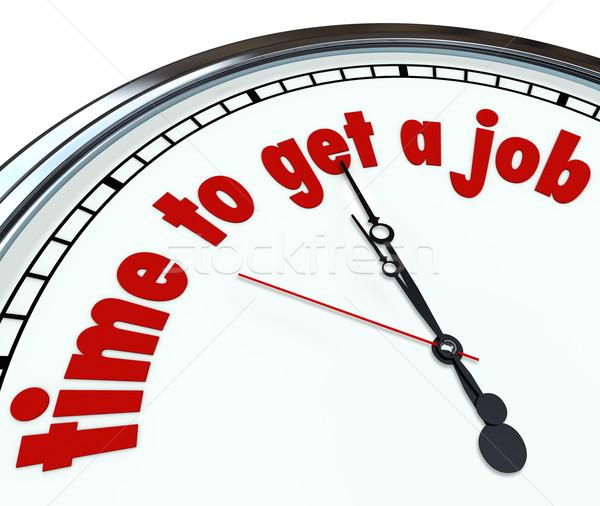 Foto stock: Tiempo · Trabajo · palabras · reloj · fecha · tope · encontrar