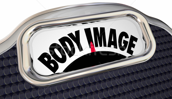 Body Mass Index Words Scale BMI Measure Overweight Fat Loss Stock photo © iqoncept