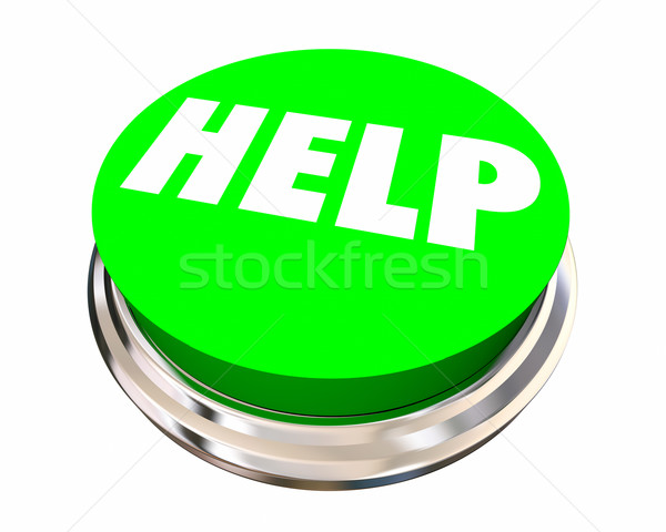 Help Button Get Assistance Support Service Word 3d Illustration Stock photo © iqoncept