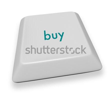 Computer Key - Sell Stock photo © iqoncept