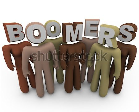 Community - Diverse People Form Society Bonds Stock photo © iqoncept