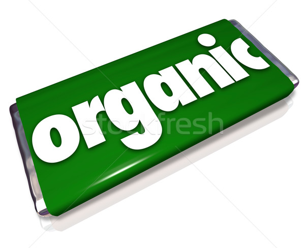 Organic Snack Candy Bar Natural Healthy Food Choice Stock photo © iqoncept