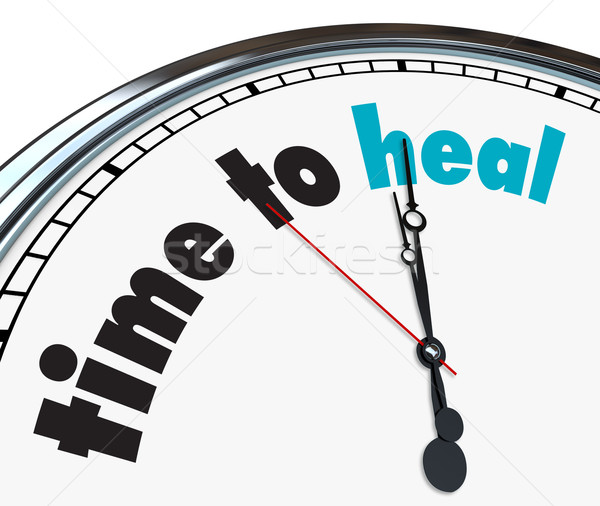 Time to Heal - Ornate Clock Stock photo © iqoncept