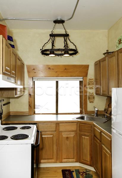 Small simple kitchen room Stock photo © iriana88w