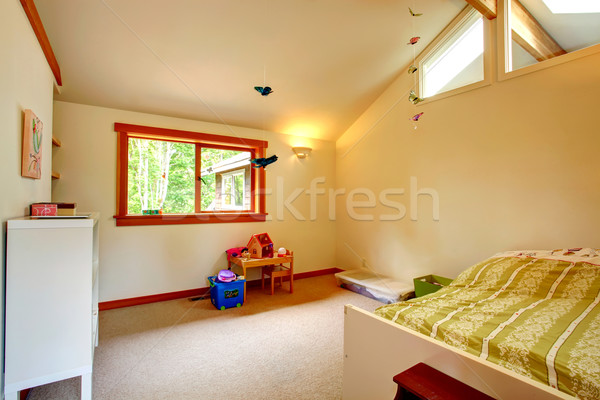 Beautiful kids room with high ceiling Stock photo © iriana88w