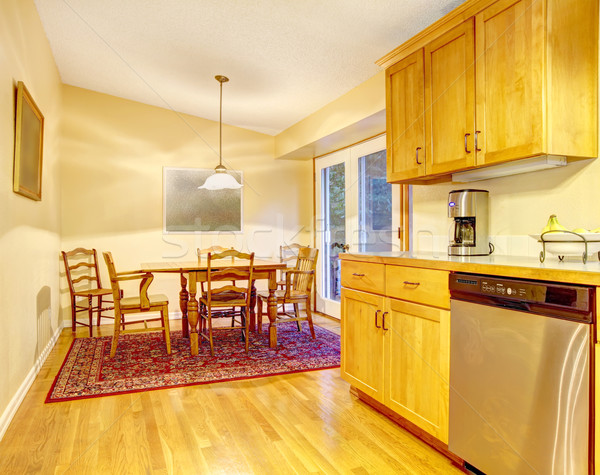 Сток-фото: простой · серый · коричневый · уровень · американский · дома