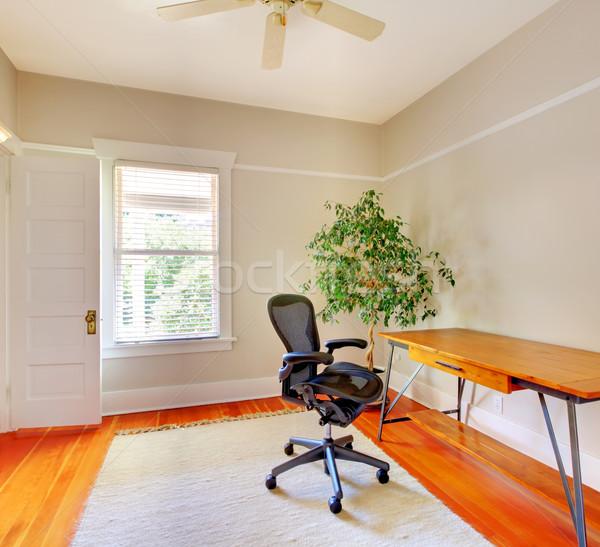 Home office room interior with desk. Stock photo © iriana88w