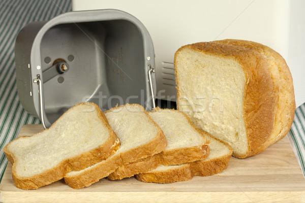 Bread machine making fresh bread at home. Stock photo © iriana88w