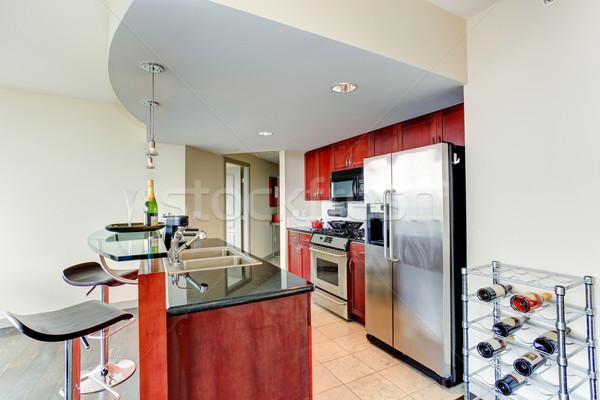 Modern kitchen interior.  Stock photo © iriana88w