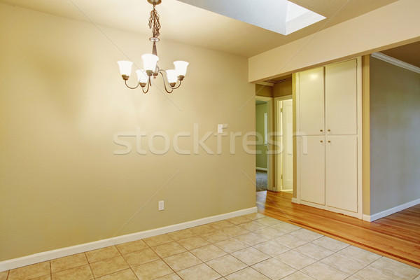 Lovely dining room with tile floor. Stock photo © iriana88w