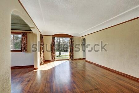 Nice Dinning room with green walls. Stock photo © iriana88w