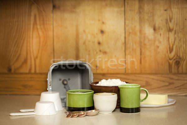 Brood machine vers home witte Stockfoto © iriana88w