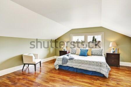 New bedroom with hardwood floor. Stock photo © iriana88w