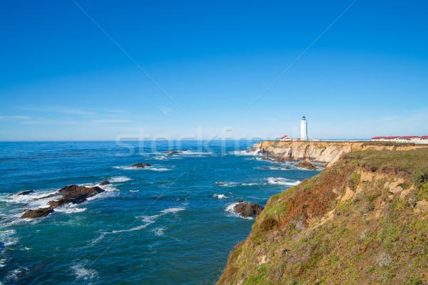 Califórnia pombo ponto farol rodovia Foto stock © iriana88w