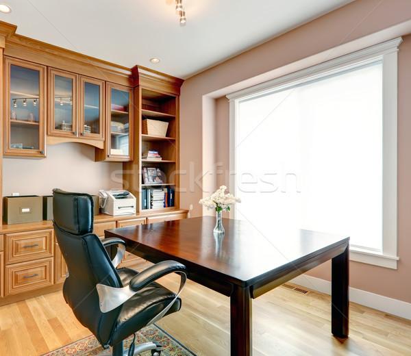 Egyszerű elegáns iroda szoba belső raktár Stock fotó © iriana88w
