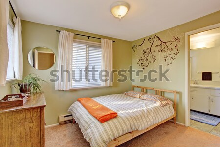 Old fashioned bedroom Stock photo © iriana88w