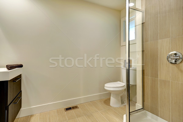 Simple bathroom interior Stock photo © iriana88w