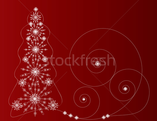 fir-tree red Stock photo © Irinavk