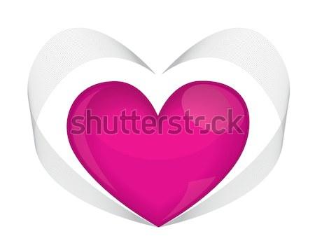 Scarlet heart Stock photo © Irinavk